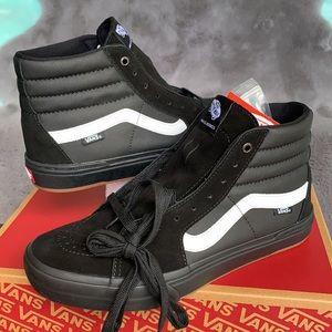 VANS SK8-HI PRO BMX BLACK/WHITE WMNS